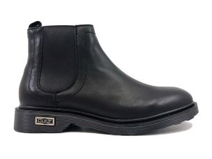 CULT 102794 OZZY 1334MID LEATHER BLACK STIVALETTO UOMO