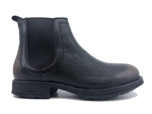 CULT 104215 MORRISON MID 3100 WASHED BLACK STIVALETTO UOMO