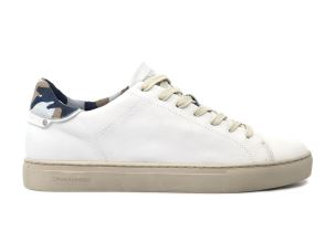 CRIME LONDON 11106 BEAT SNEAKER UOMO IN PELLE BIANCA