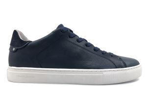 CRIME LONDON 11111 SNEAKER UOMO IN PELLE BLU