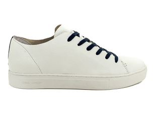 CRIME LONDON 11200 SNEAKER UOMO IN PELLE BIANCA