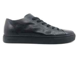 CRIME LONDON 11201 SNEAKER UOMO IN PELLE NERA