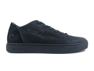 CRIME LONDON 11507 AMUSE SNEAKER UOMO IN PELLE NERA