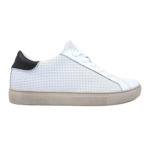 CRIME LONDON 11510 SNEAKER UOMO IN PELLE BIANCA