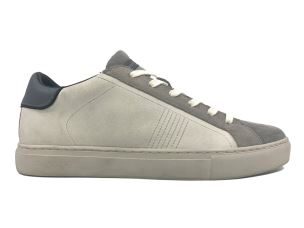 CRIME LONDON 11517 BEAT SNEAKER UOMO IN PELLE BIANCA