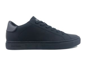 CRIME LONDON 11543 BEAT SNEAKER UOMO IN PELLE NERA