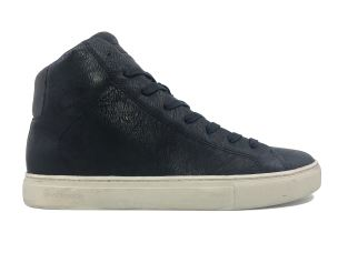 CRIME LONDON 11551 INFINITY SNEAKER UOMO IN PELLE NERA