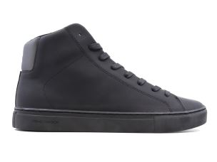 CRIME LONDON 11555 INFINITY SNEAKER UOMO IN PELLE NERA