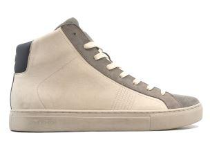 CRIME LONDON 11573 INFINITY SNEAKER UOMO IN PELLE BIANCA