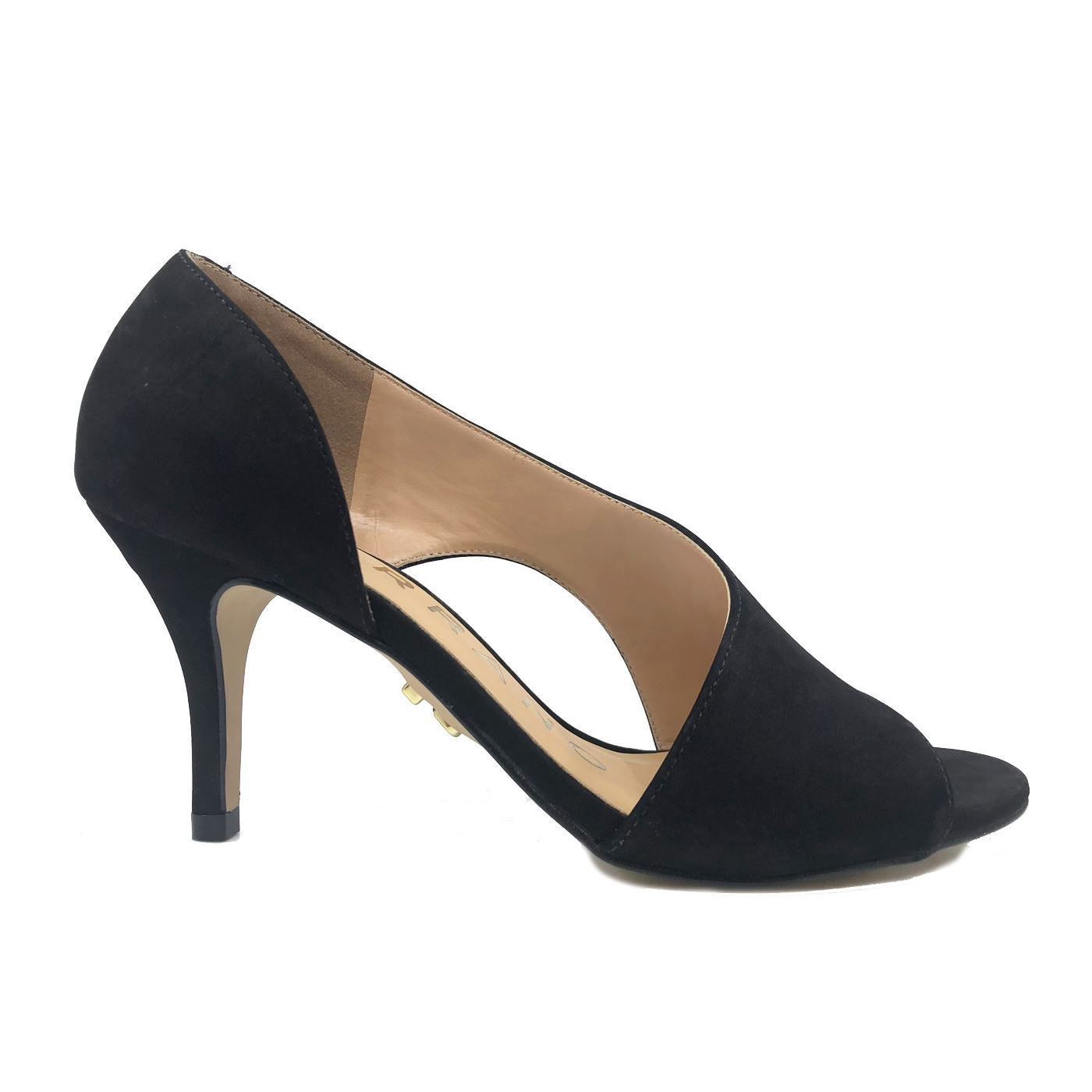 CARRANO 144329 DECOLLETE DONNA IN NUBUCK NERO
