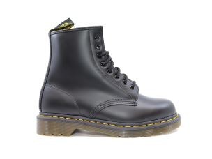 DR. MARTENS 1460 SMOOTH ANFIBIO IN PELLE NERA