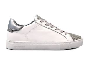 CRIME LONDON 25160 BEAT SNEAKER DONNA IN PELLE BIANCA