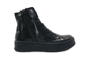 CRIME LONDON 25400 SNEAKER DONNA NERA