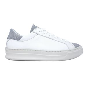 CRIME LONDON 25512 SONIK SNEAKER DONNA IN PELLE BIANCA
