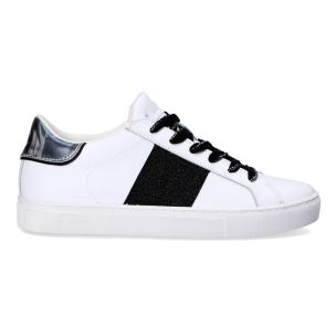 CRIME LONDON 25632 LOW TOP SNEAKER DONNA IN PELLE BIANCA