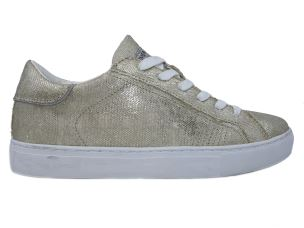 CRIME LONDON 25731 BEAT SNEAKER DONNA IN TESSUTO ORO