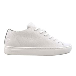 CRIME LONDON 25790 RAW LO SNEAKER DONNA IN PELLE BIANCA