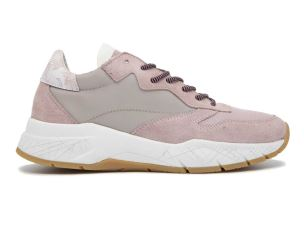CRIME LONDON 25806 SNEAKER DONNA IN CAMOSCIO ROSA