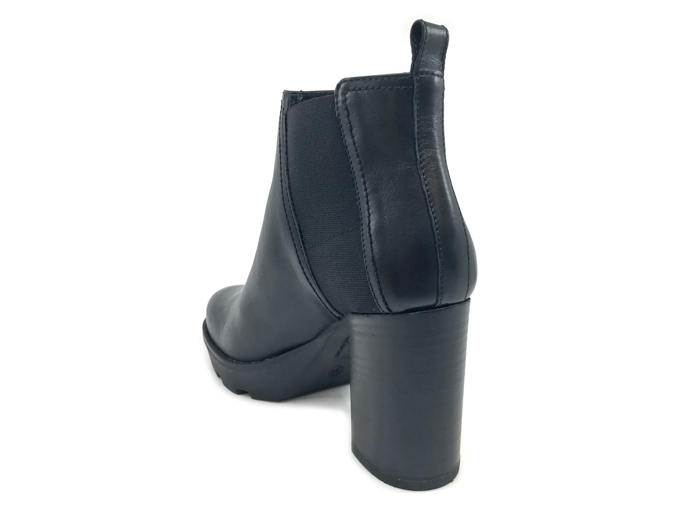 JANET SPORT 42827 NERA STIVALETTO DONNA IN PELLE NERA 42827 MainApps be4c4d