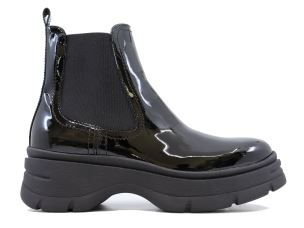 JANET SPORT 44777 MARGOT STIVALETTO CHELSEA BOOT DONNA NERO
