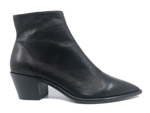 JULIE DEE 4542 FOX NERO STIVALETTO DONNA IN PELLE NAPPATA NERA