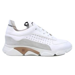 MOMA 4AS018-CT SNEAKER UOMO IN PELLE NAPPA BIANCA