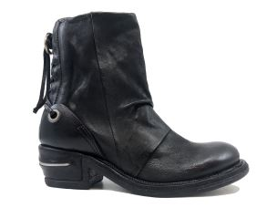 A.S. 98 512208 STIVALETTO DONNA IN PELLE NERO