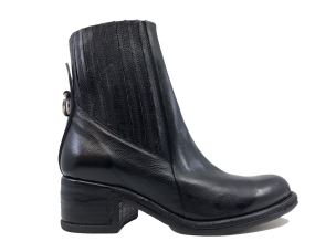A.S. 98 548206 STIVALETTO DONNA IN PELLE NERO