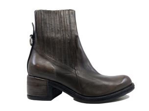 A.S. 98 548206 STIVALETTO DONNA IN PELLE MARRONE