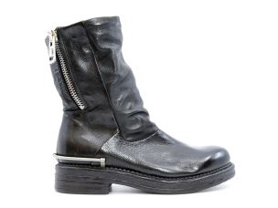 A.S. 98 558205 STIVALETTO DONNA IN PELLE NERO