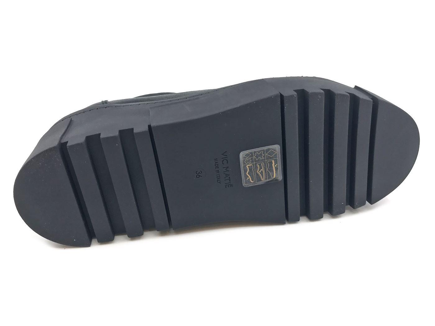 VIC MATIE' MATIE' MATIE' 6883 scarpe da ginnastica DONNA IN TESSUTO NERO  MainApps 63801c