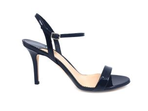THE SELLER 7643 VERNICE NERO SANDALO DONNA TACCO ALTO NERO
