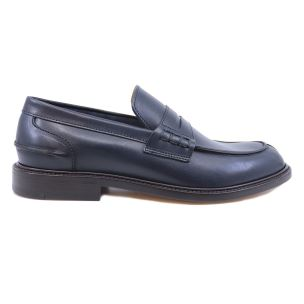 DOUGLAS 785 PRINCESS 040 MOCASSINO DA UOMO IN PELLE BLU
