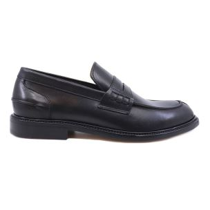 DOUGLAS 785 PRINCESS MOCASSINO DA UOMO IN PELLE NERA
