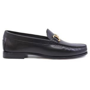 DOUGLAS 8007 PRINCESS MOCASSINO DA DONNA IN PELLE NERA