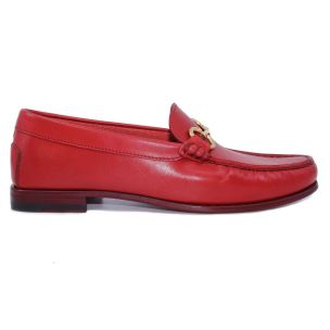 DOUGLAS 8007 PRINCESS 783 MOCASSINO DA DONNA IN PELLE ROSSO