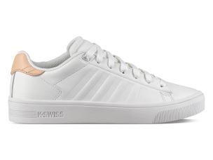 K-SWISS K95453 189 SNEAKERS DONNA IN PELLE BIANCA