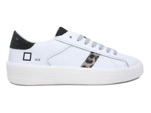 D.A.T.E. AC-AN-WB SNEAKERS DONNA IN PELLE BIANCA