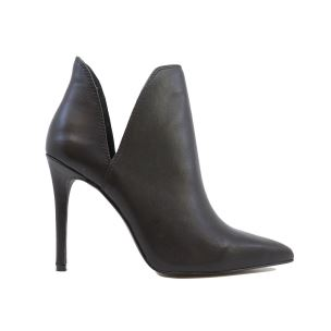 STEVE MADDEN ANALESE BLACK STIVALETTO DONNA IN PELLE NERO