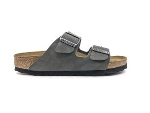 BIRKENSTOCK ARIZONA BS BRUSHED EMERALD GREEN SANDALO