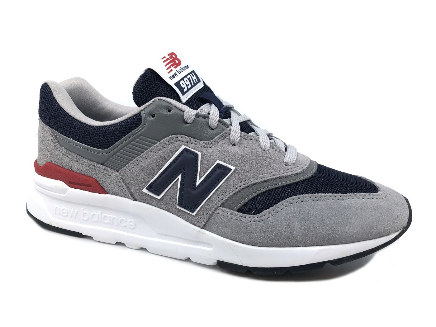 NEW BALANCE M997HCJ SUEDE SUEDE SUEDE MESH GREY NAVY RED SNEAKER men MainApps 9fc025
