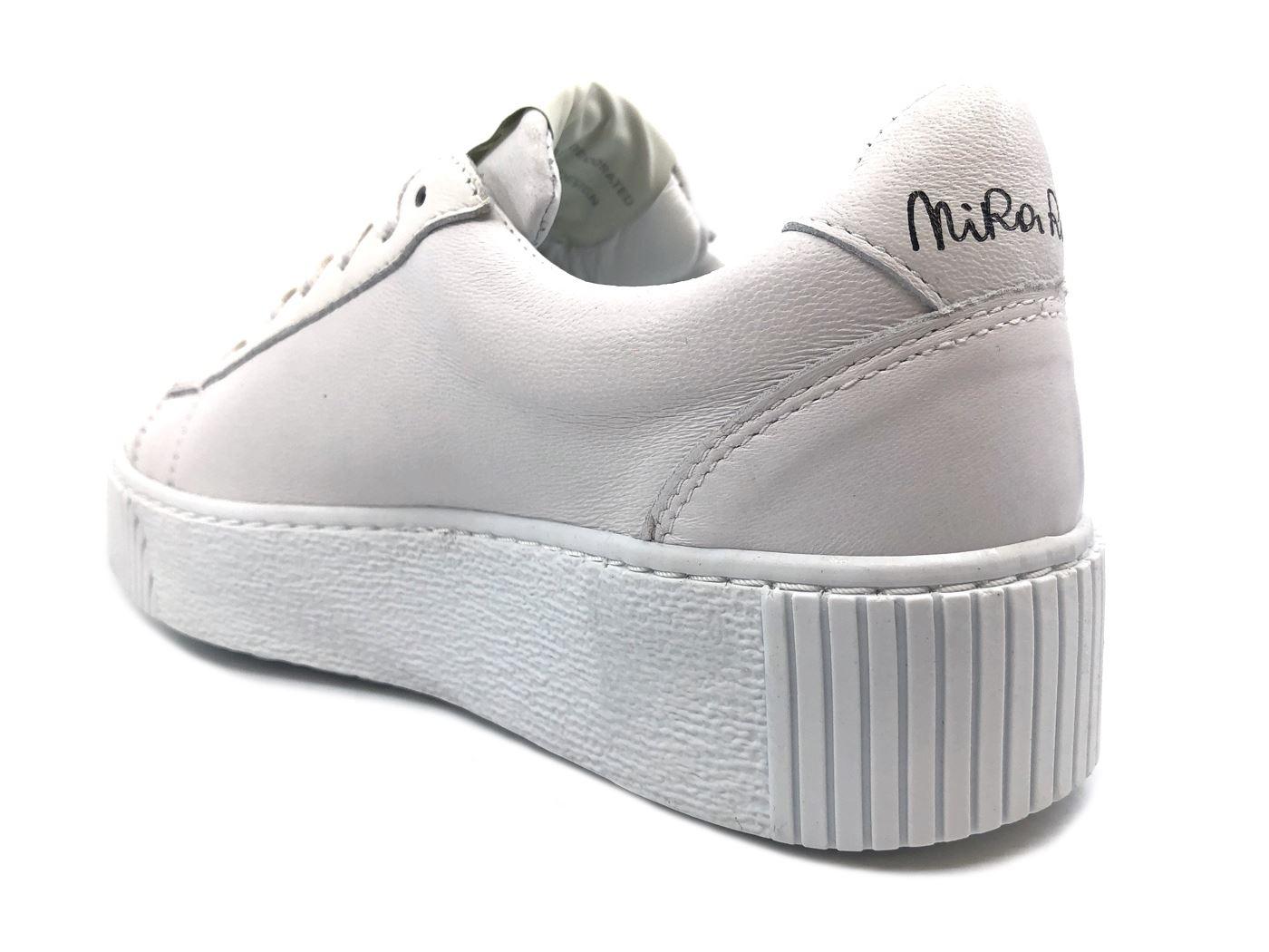 NIRA RUBENS COST15 baskets femmes IN IN IN PELLE blanc MainApps 51bbb2