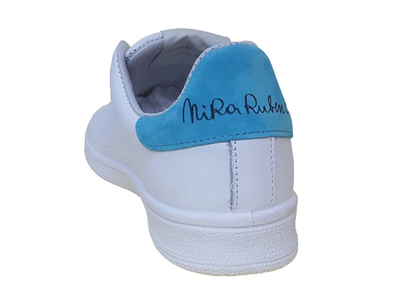 NIRA RUBENS DACU91 DAIQUIRI CUORE  BIANCO BIANCO BIANCO Blau Turnschuhe damen MainApps 86703d