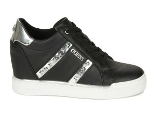 GUESS FL5FAYELE12 SNEAKER DONNA IN SIMILPELLE NERA