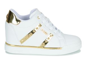 GUESS FL5FAYELE12 SNEAKER DONNA IN SIMILPELLE BIANCA