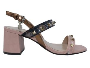 GUESS FL6CTRFAL03 SANDALO DONNA IN PELLE TACCO LARGO
