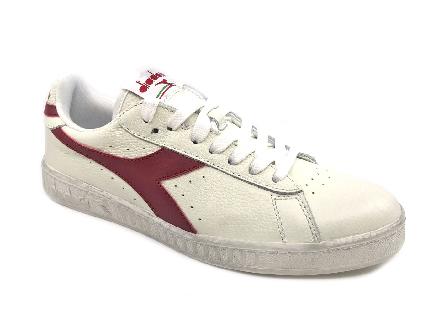 DIADORA GAME L LOW PELLE WAXED C5147 SNEAKER IN PELLE LOW MainApps e4786c