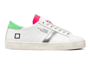D.A.T.E. HL-CA-WC SNEAKERS DONNA IN PELLE BIANCA