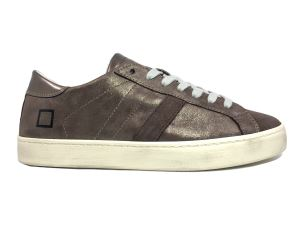 D.A.T.E. HL-ST-BZ SNEAKERS DONNA IN PELLE BRONZO