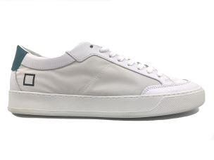 D.A.T.E. JE-RE-WH SNEAKERS UOMO IN PELLE BIANCA